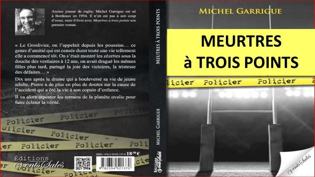 Michel Garrigue – Artiste Romancier de l'Ovalie
