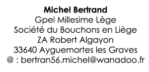 michel bertrand ecriture