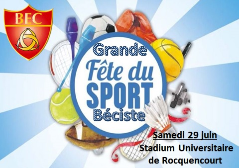 Grande Fête Beciste – Samedi 29 juin au Stadium Universitaire domaine de Rocquencourt