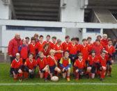 Calendrier du mois de décembre pour l'école de rugby