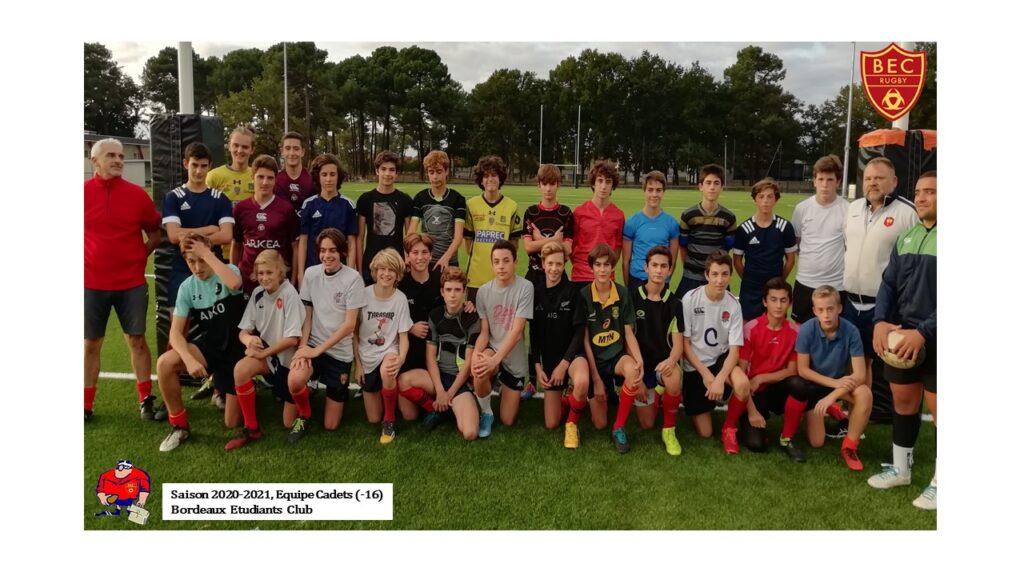 2020 - U16 - Entrainement